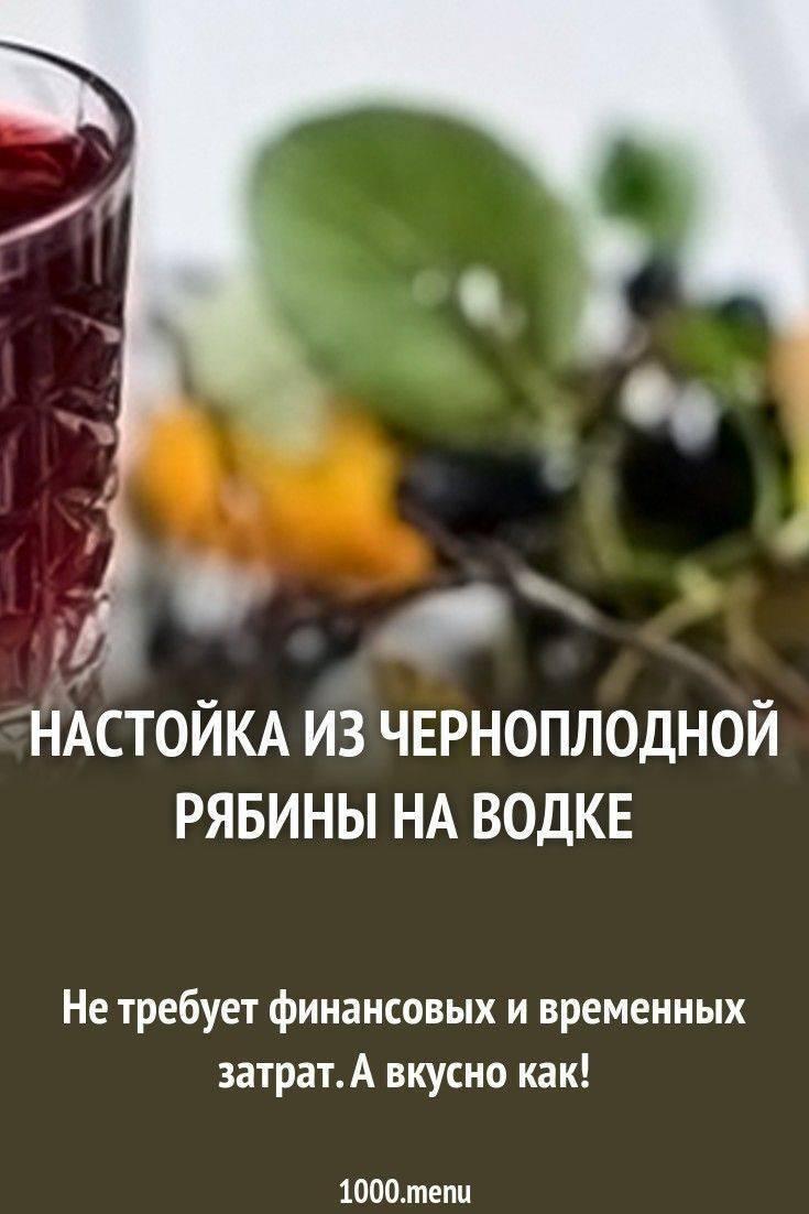 Настойка из черноплодной рябины на водке, самогоне, спирту. рецепт простой с вишневыми листьями, яблоками, медом, гвоздикой. фото пошагово