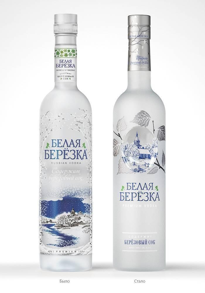 Обзор водки Белая березка