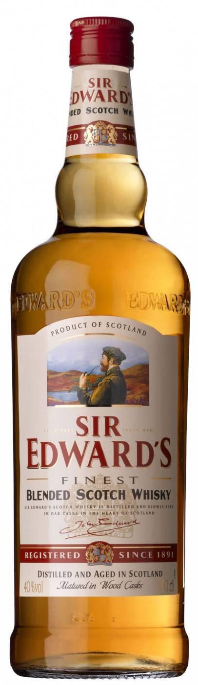 Виски sir edwards: история создания, производство и характеристики