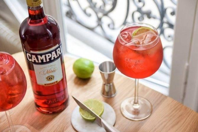 Топ лучших рецептов коктейлей на основе Кампари. Как правильно пить ликер?