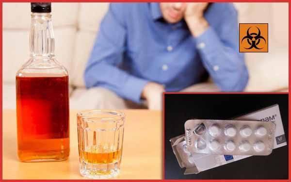 Выбор алкоголика: о совместимости снотворного и алкоголя