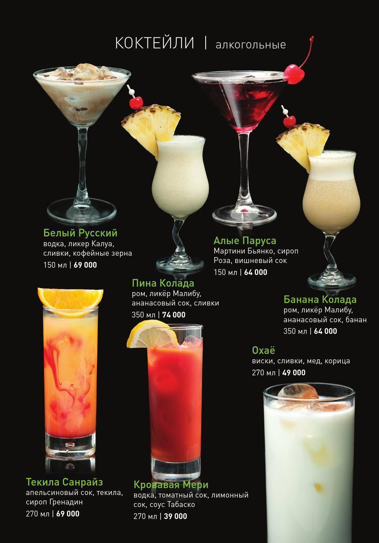Безалкогольные коктейли в домашних условиях: простые рецепты