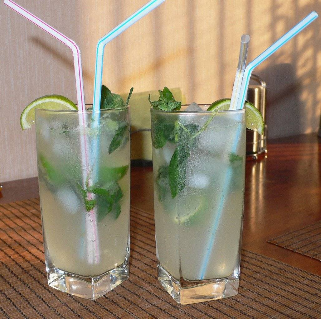 Мохито - безалкогольный рецепт в домашних условиях (пошагово)