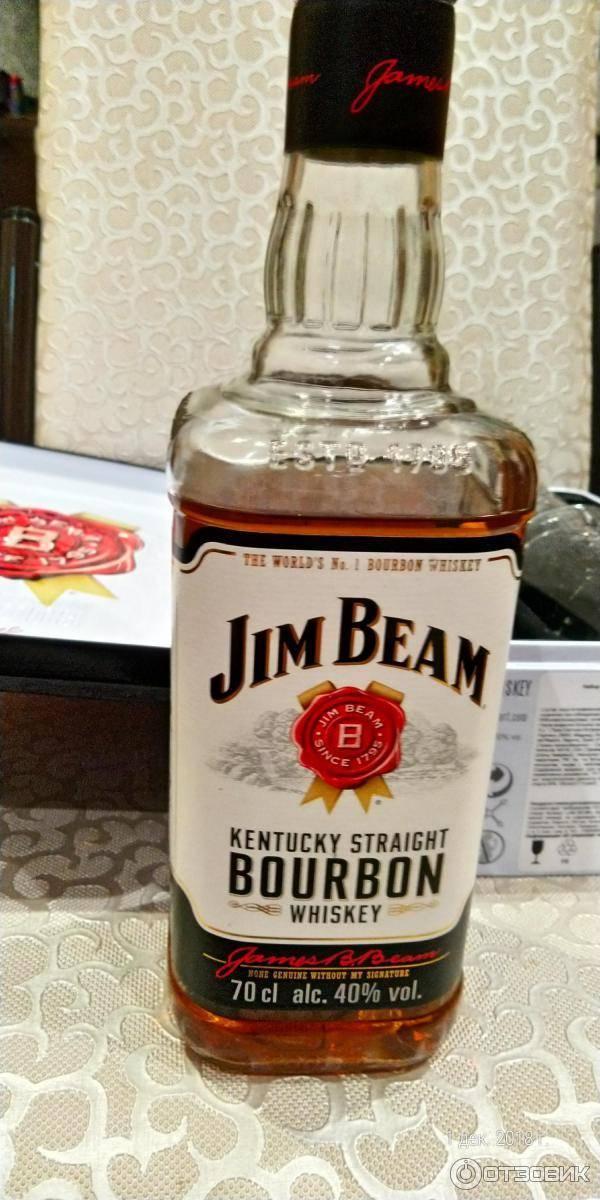«jim bеаm» как отличить оригинальный виски от подделки