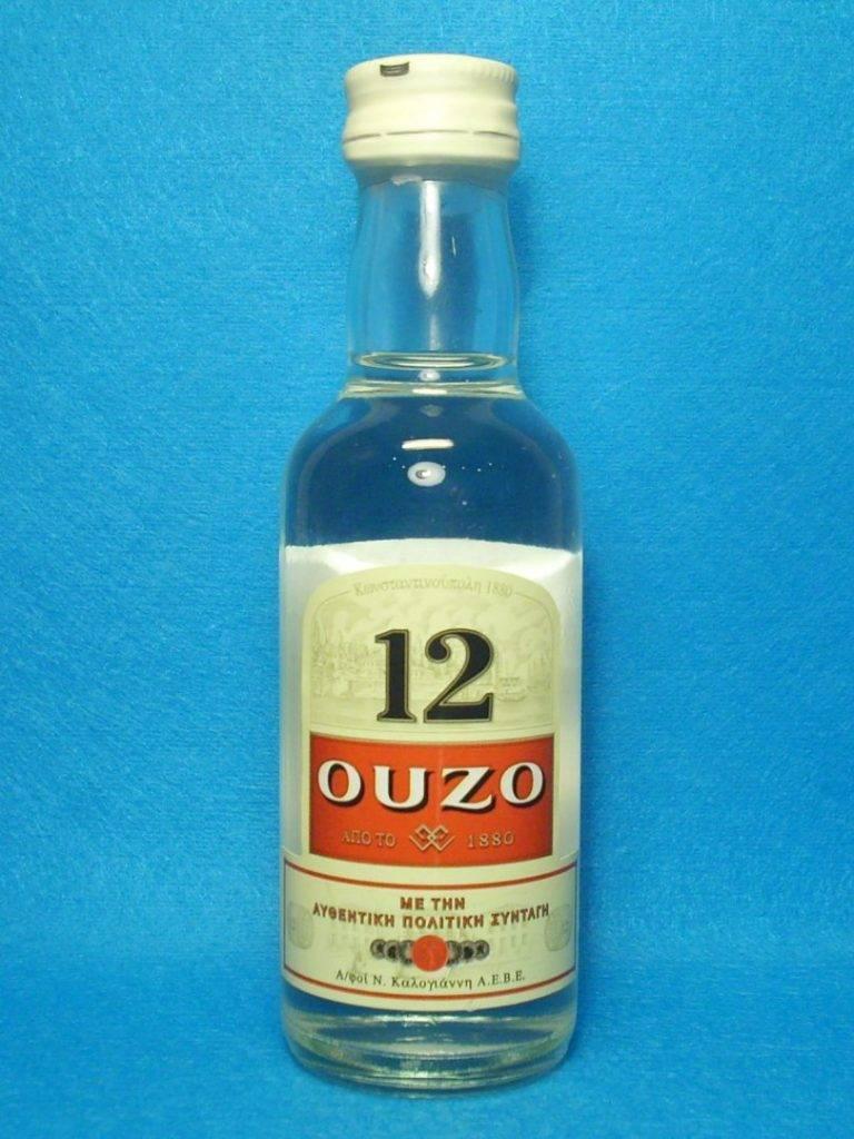 Греческая водка узо – местный анисовый напиток