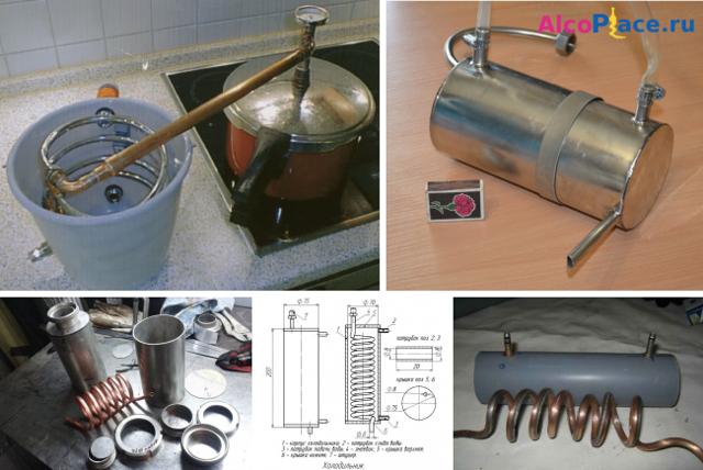 Характеристики и изготовление змеевика для самогонного аппарата