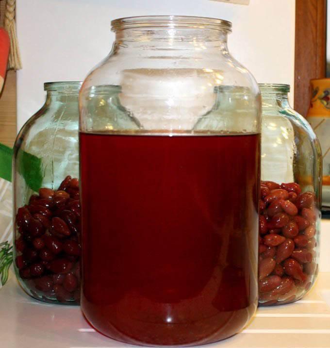 Настойка из малины на водке