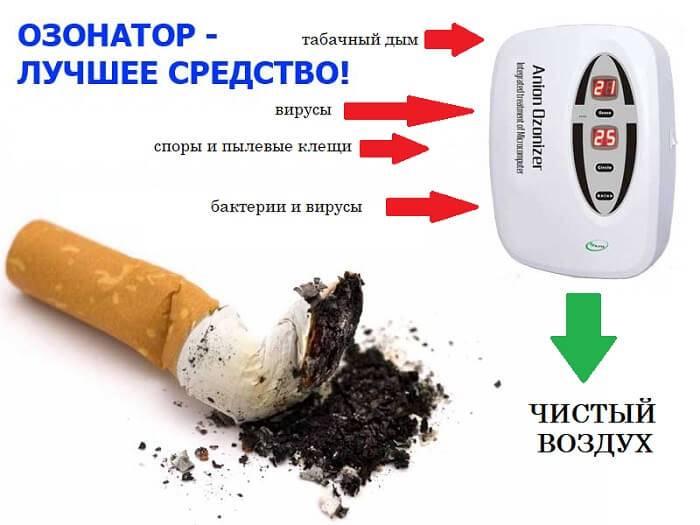 8 способов как убрать запах сигарет в квартире