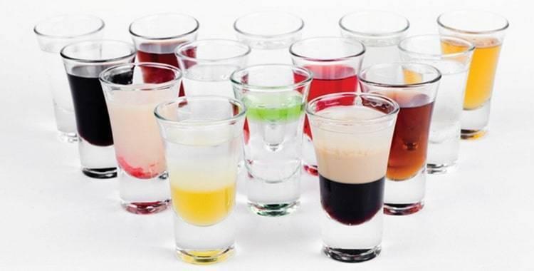 Виды коктейлей и способы их приготовления