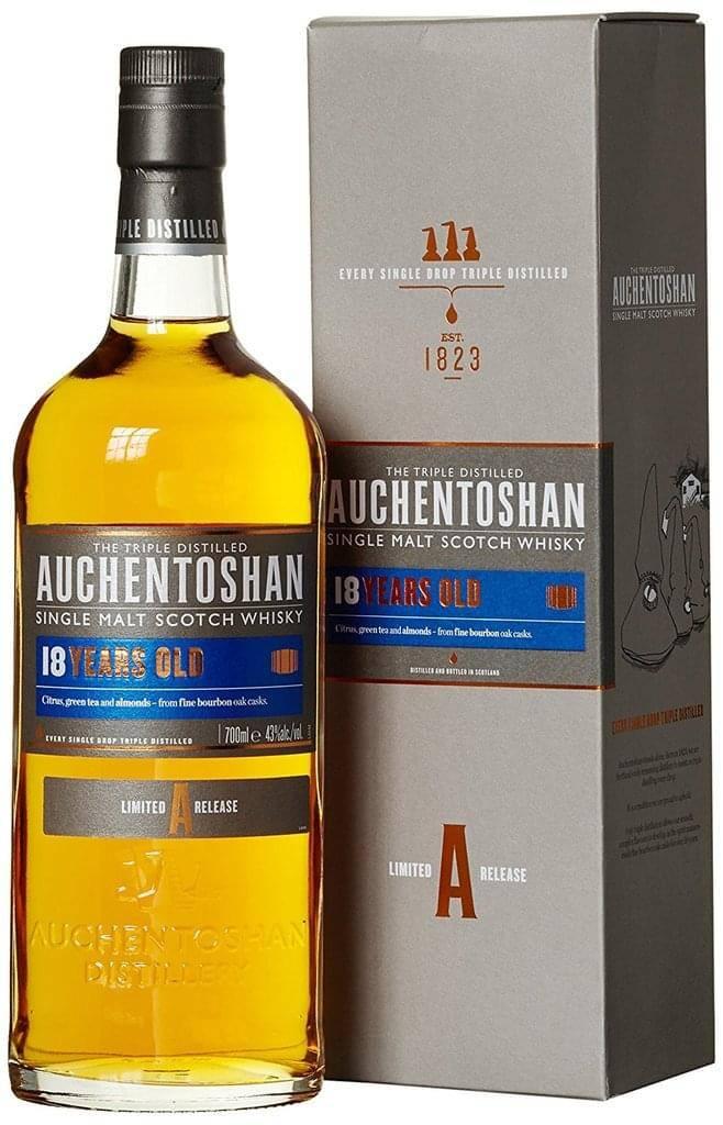 Виски «auchentoshan (акентошан)» – описание и виды марки