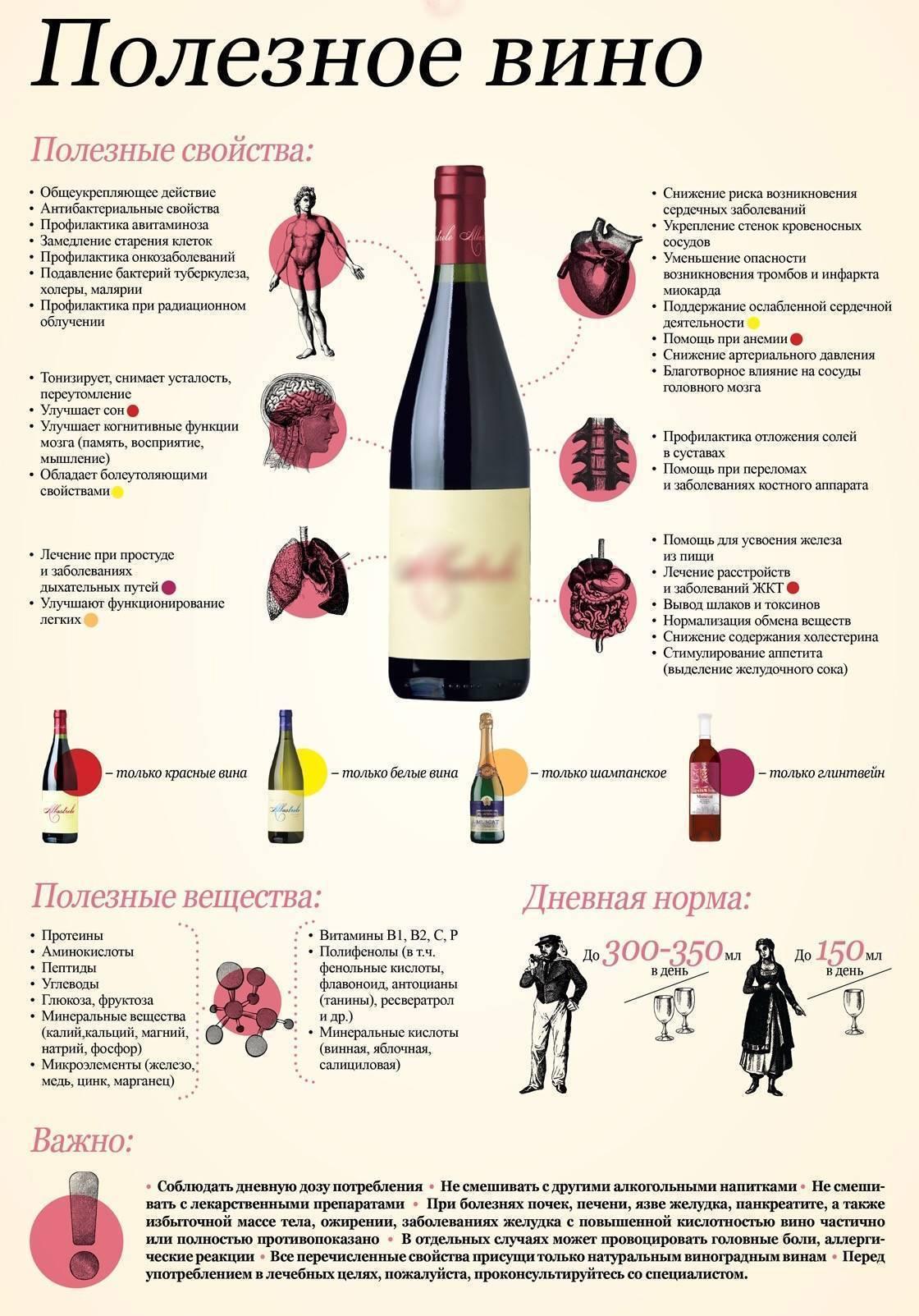 Сухое вино: определение, характеристики, отличия от других разновидностей вин