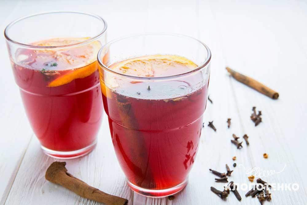Безалкогольный глинтвейн – кулинарный рецепт