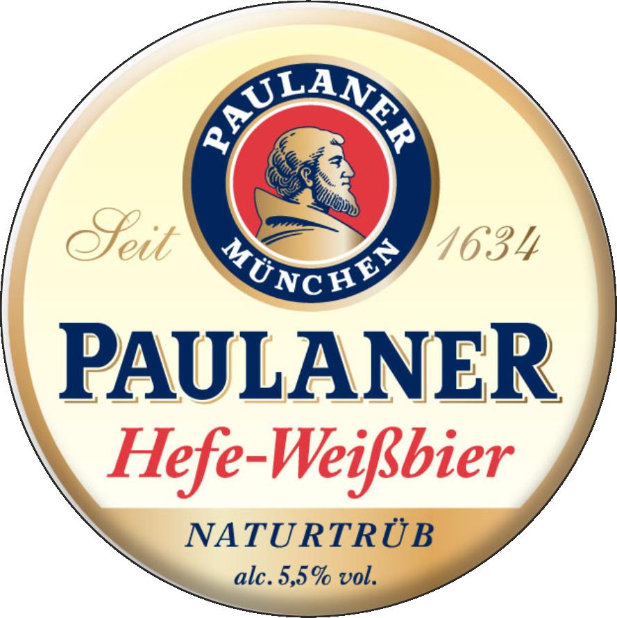 Пиво paulaner, hefe-weissbier dunkel, 0.5 л — пауланер, хефе-вайсбир дункель, 500 мл
