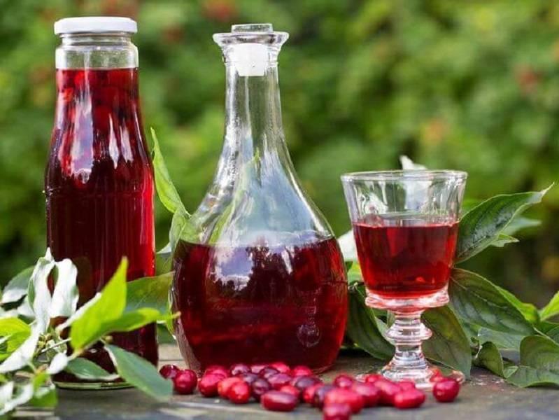 Вишнeвая (ягодная) наливка без добавления спирта, слабоалкогольная