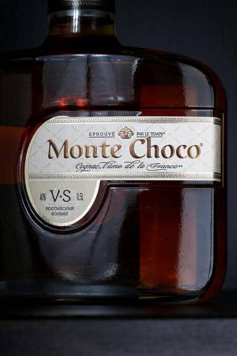 Обзор коньяка Monte Choco