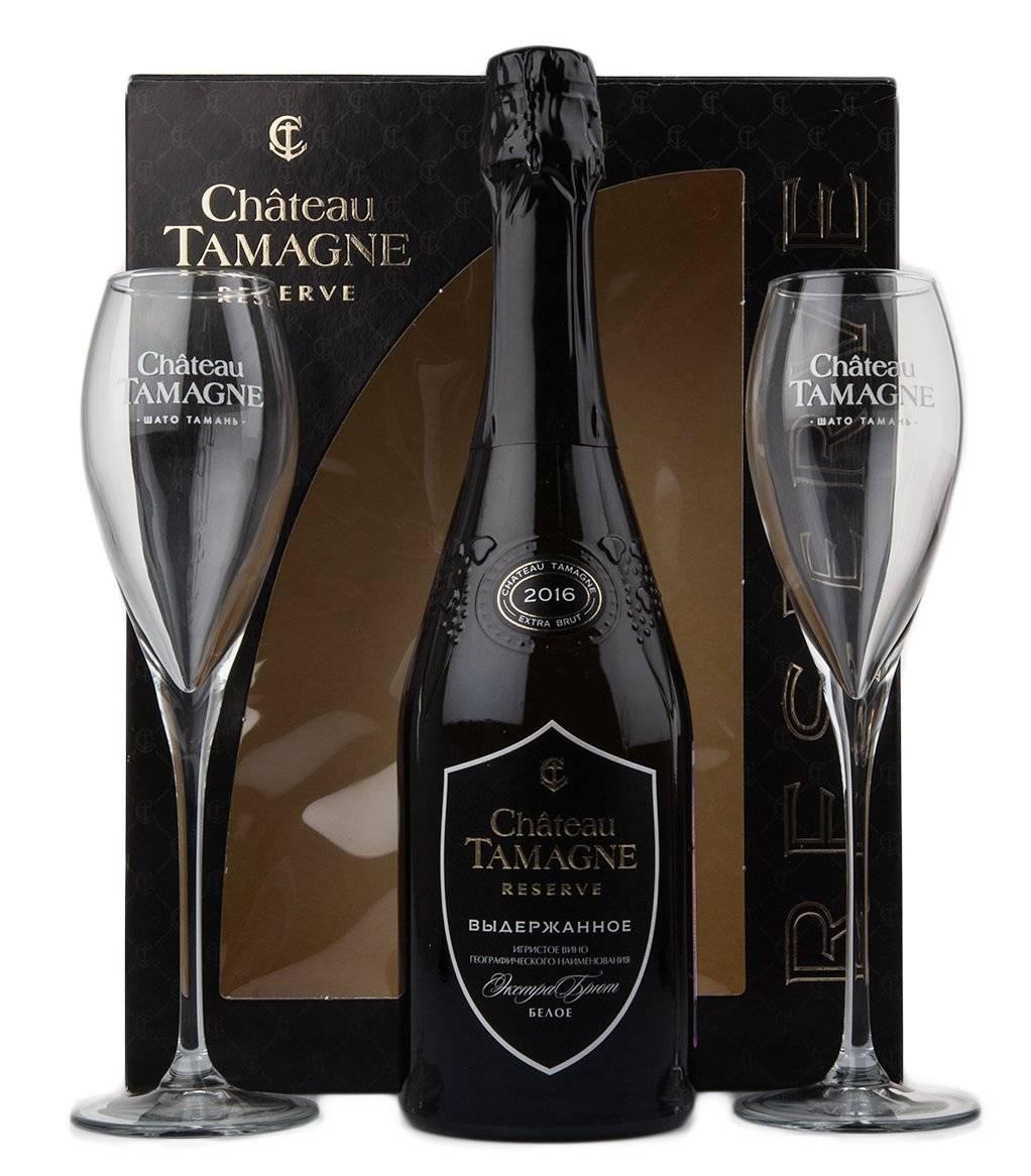 Игристое вино шато тамань (chateau tamagne) — особенности и виды шампанского