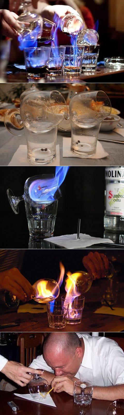 Как поджигать самбуку в домашних условиях. как правильно пить самбуку и чем закусывать — советы новичкам. способ – экстремальный
