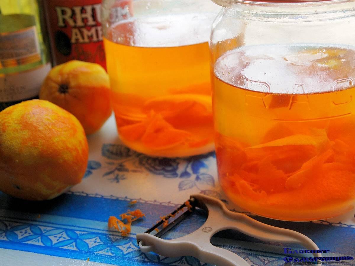Как приготовить апельсиновый ликер - рецепт с пошаговыми фото | меню недели