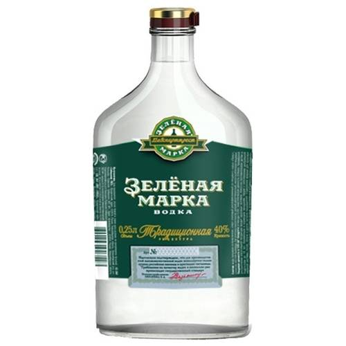 Водка зеленая марка состав. водка «зеленая марка» — история бренда. разновидности напитка и их стоимость