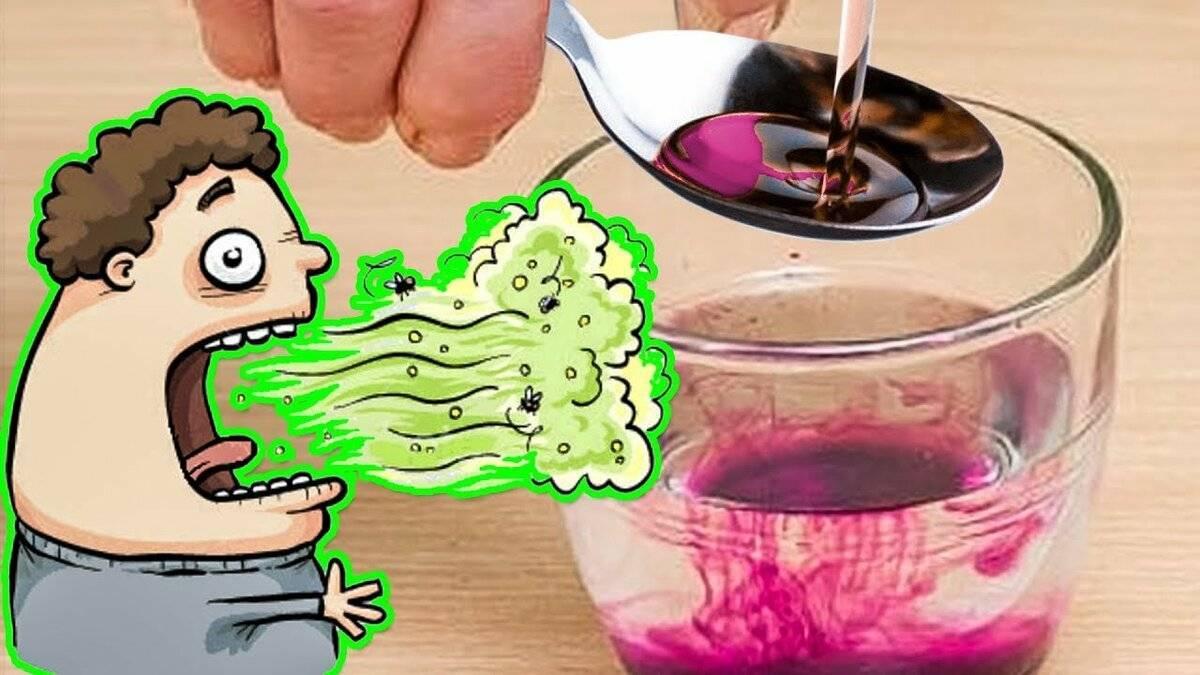 Как быстро избавиться от запаха алкоголя изо рта аптечными и народными средствами