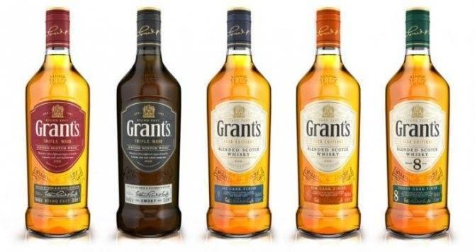 Виски «грантс фамили резерв» 0,05л. крепость 40%