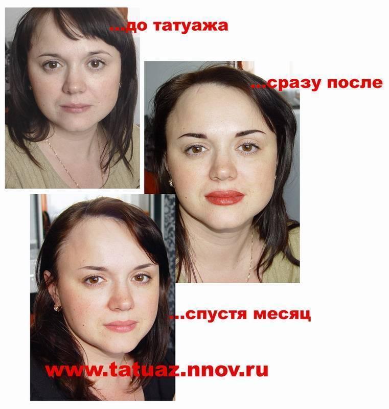 Алкоголь при перманентном макияже