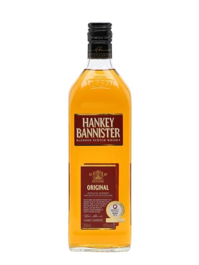 Виски hankey bannister (хэнки баннистер) – описание и виды