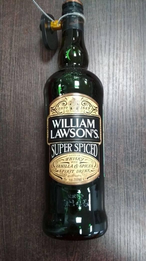 Обзор виски william lawson's (вильям лоусонс)