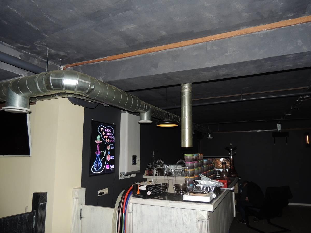 Вентиляция курительных комнат