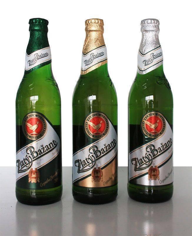 """Словацкое пиво """"златый базант"""", его история и характеристики"""