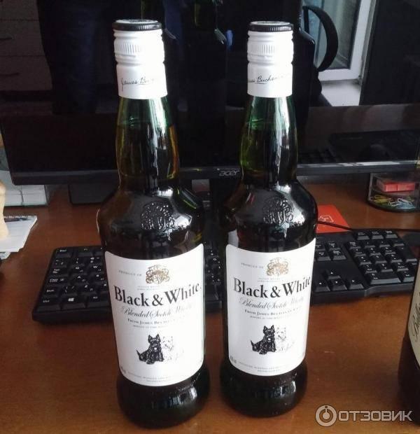 Виски black and white и его особенности