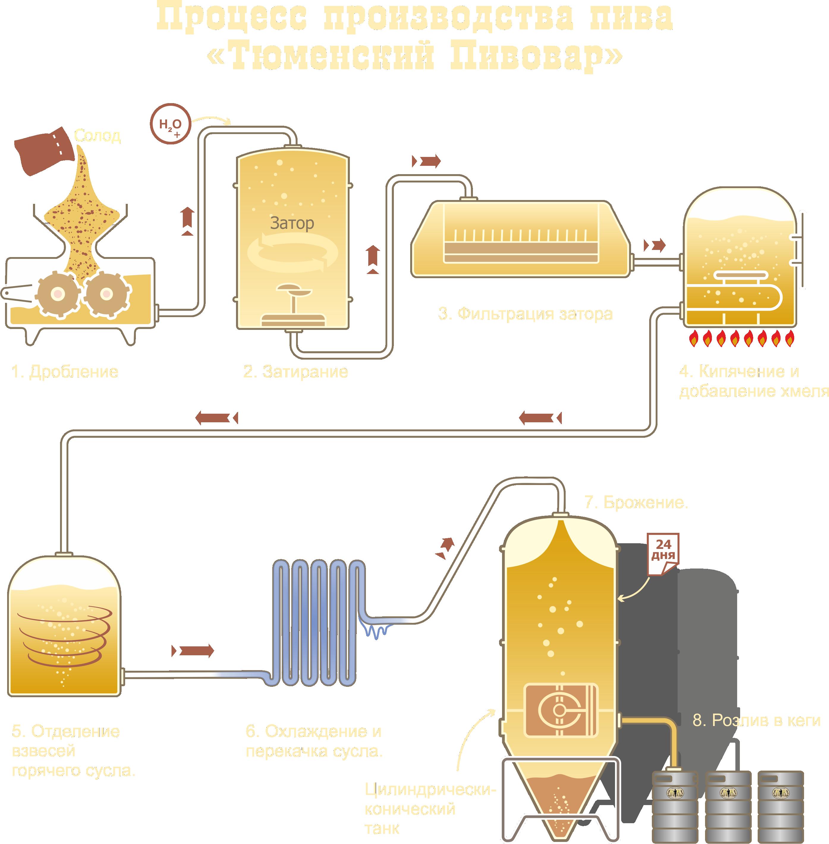 Порошковое пиво. технология производства пива. как отличить порошковое пиво от натурального? особенности технологического процесса пивоварения