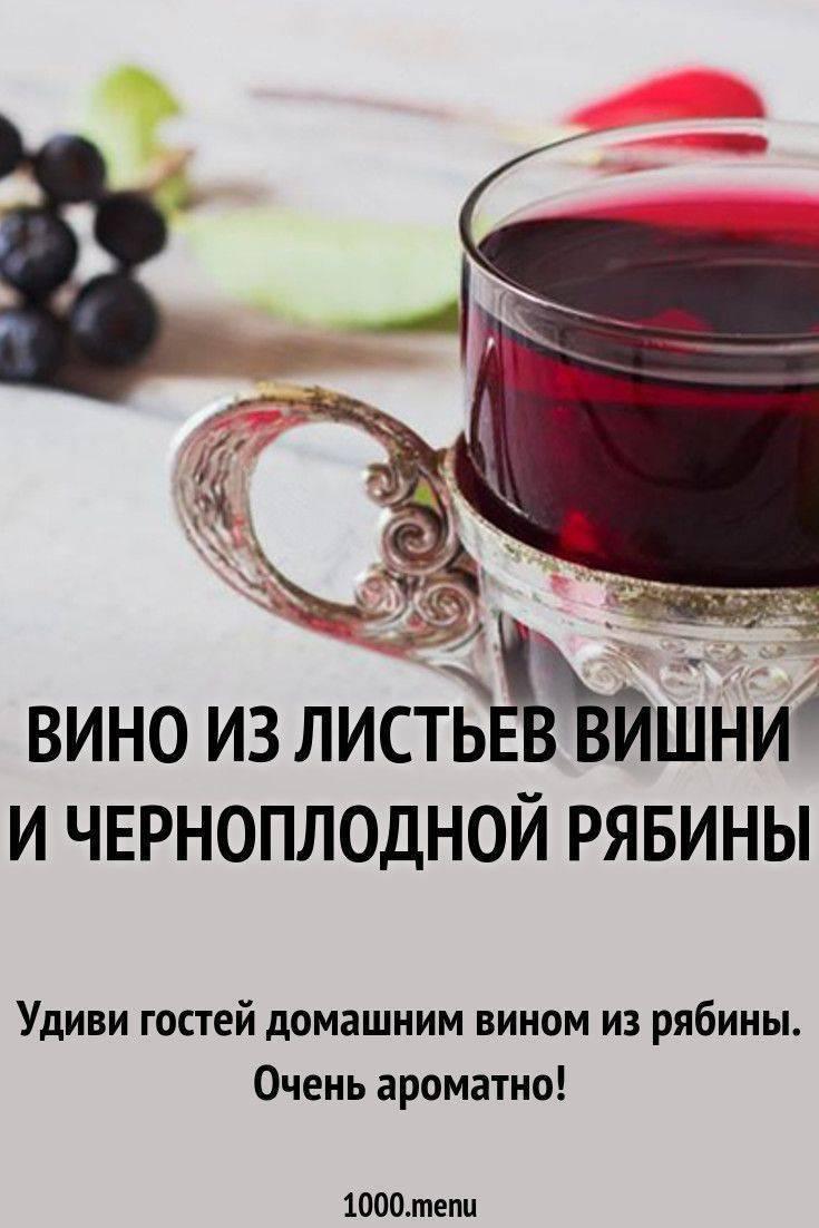 Делаем домашнее вино из черноплодной рябины