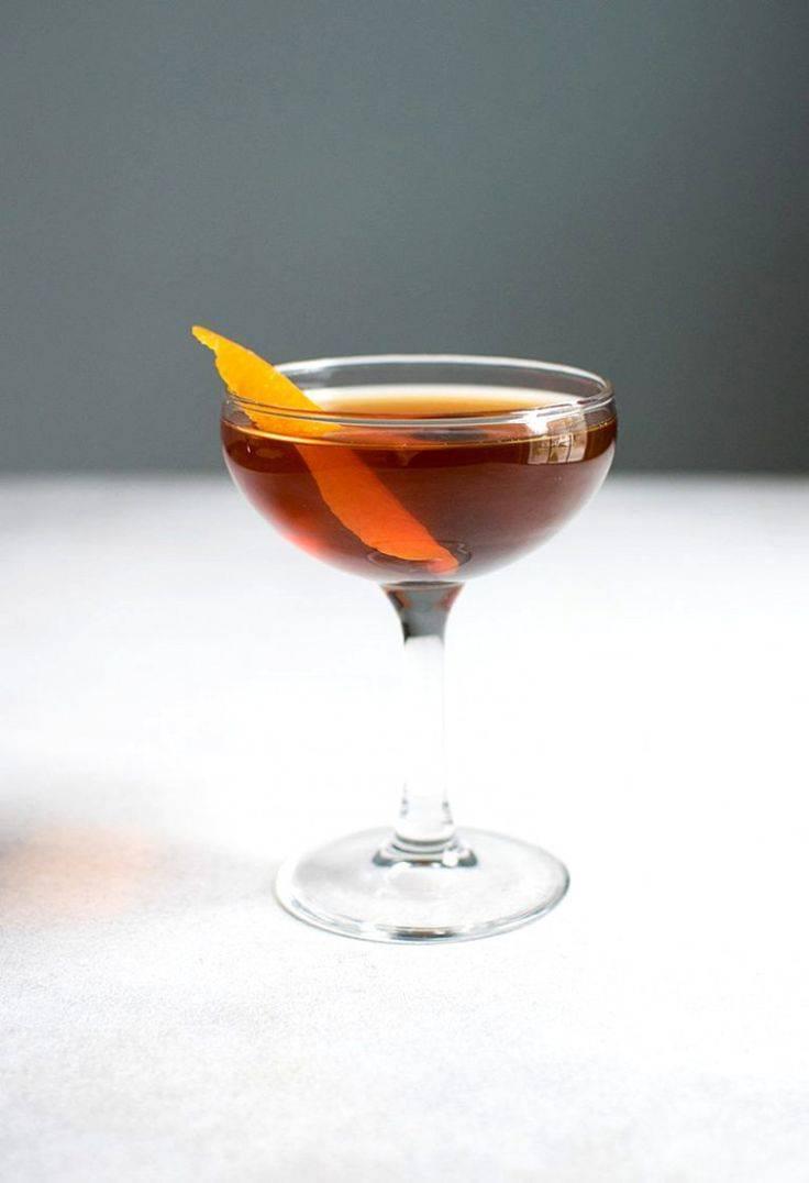 Коктейль манхэттен (manhattan) — коктейльный монарх