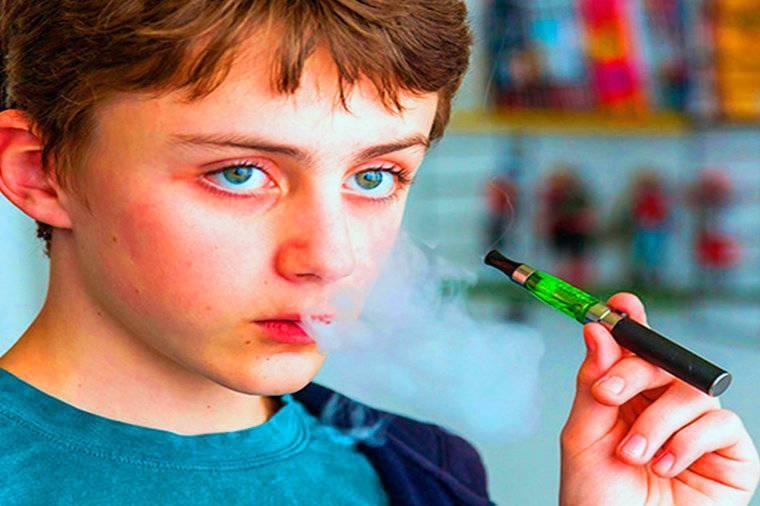 Вред электронных сигарет для здоровья подростков
