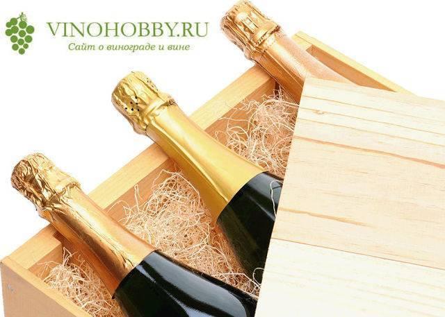 Сколько бутылок в ящике шампанского или игристого вина