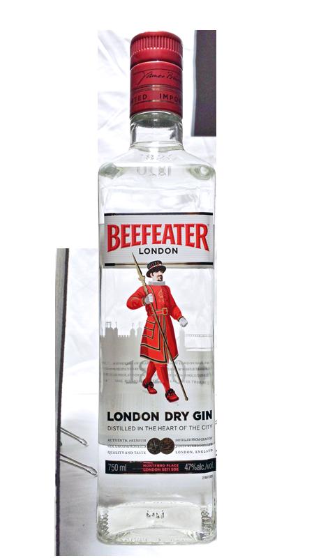 Beefeater (бифитер) – джин для настоящих джентльменов