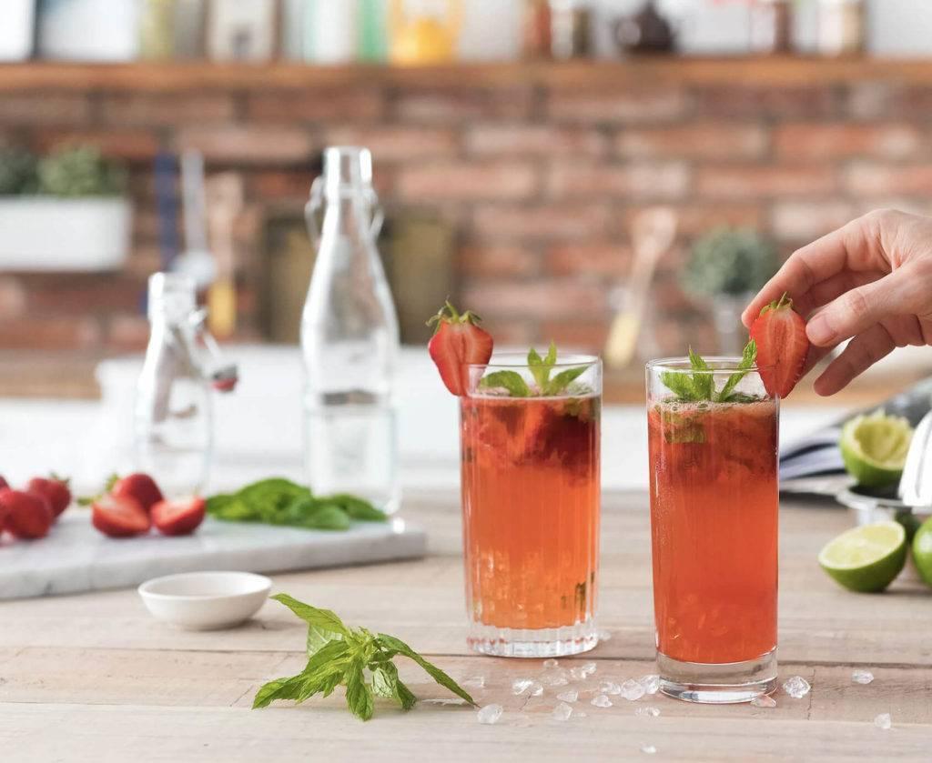 Коктейль мохито - клубничный рецепт и прочие варианты