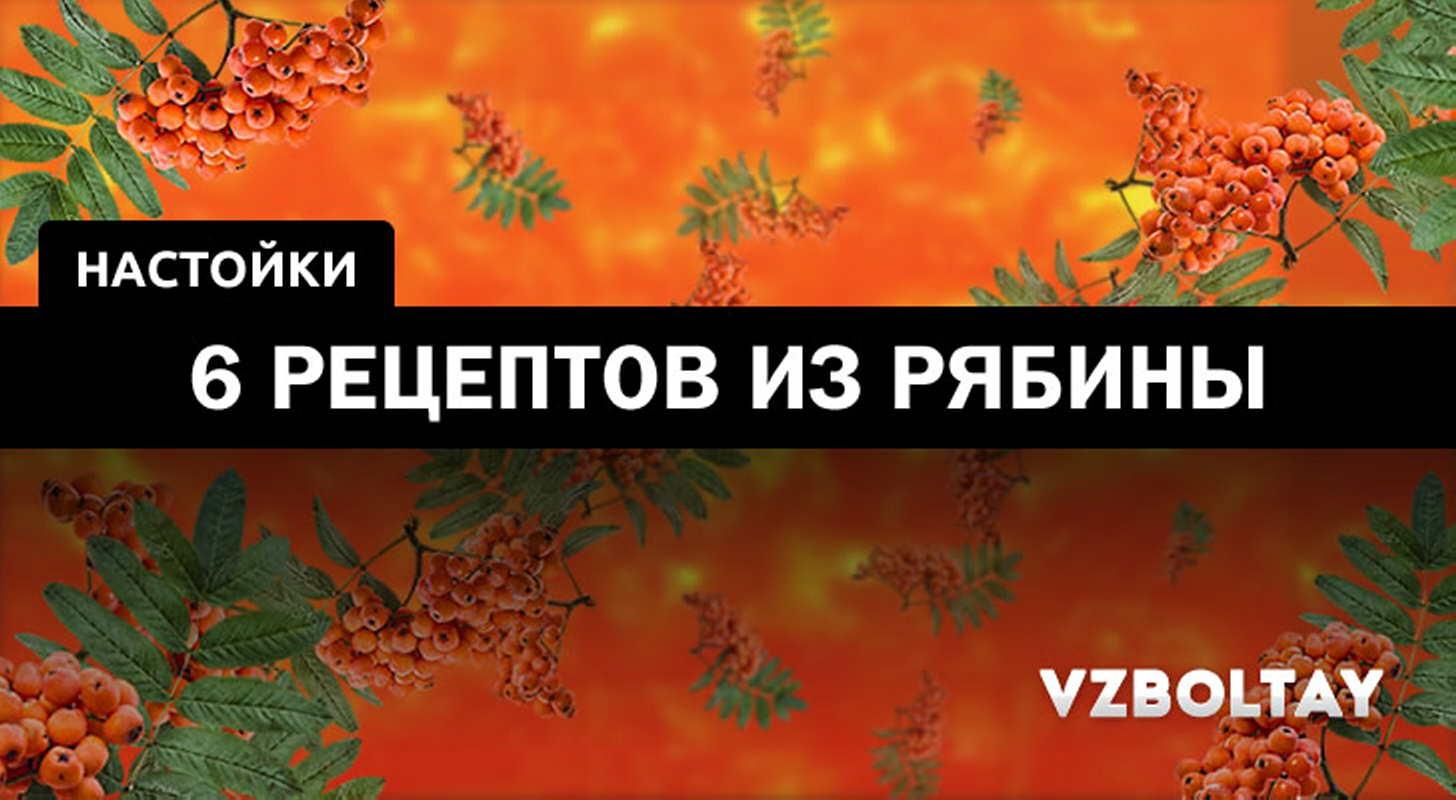 Рябиновая настойка — рецепты на поварёнок.ру