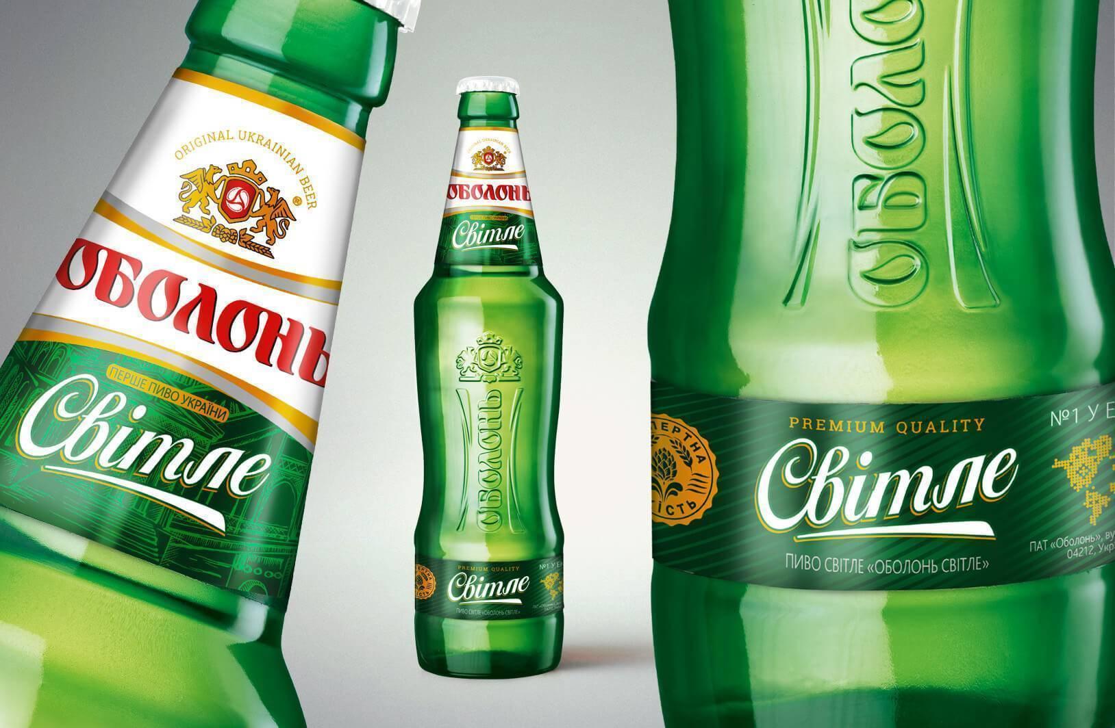 """""""оболонь"""" (пиво): производство и отзывы покупателей"""