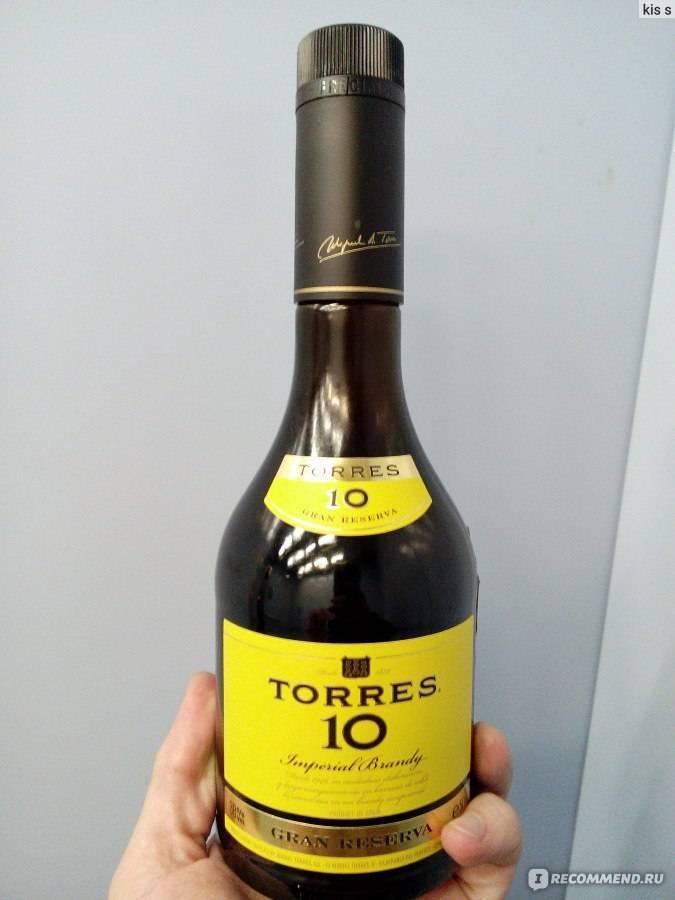 Бренди торрес (torres): один из лучших представителей хересных бренди