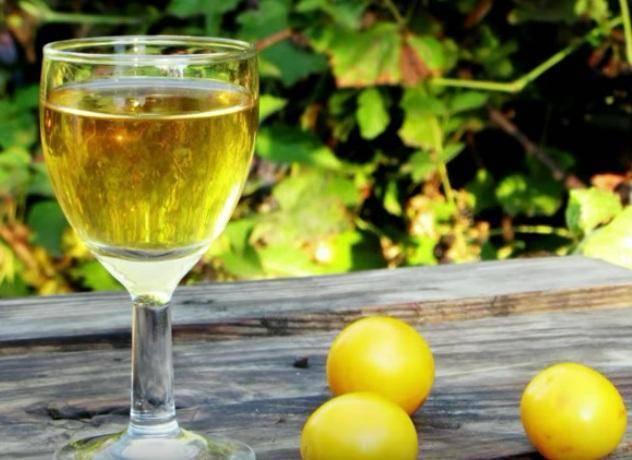 Домашнее вино из алычи пошаговый рецепт быстро и просто