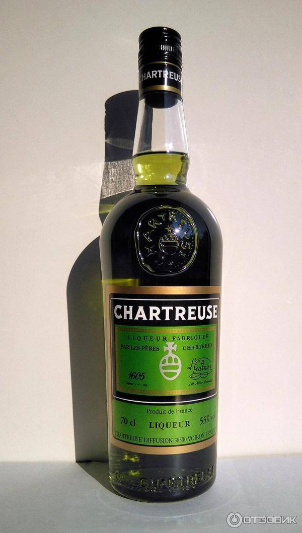 Французский ликер шартрез(chartreuse) – описание и виды