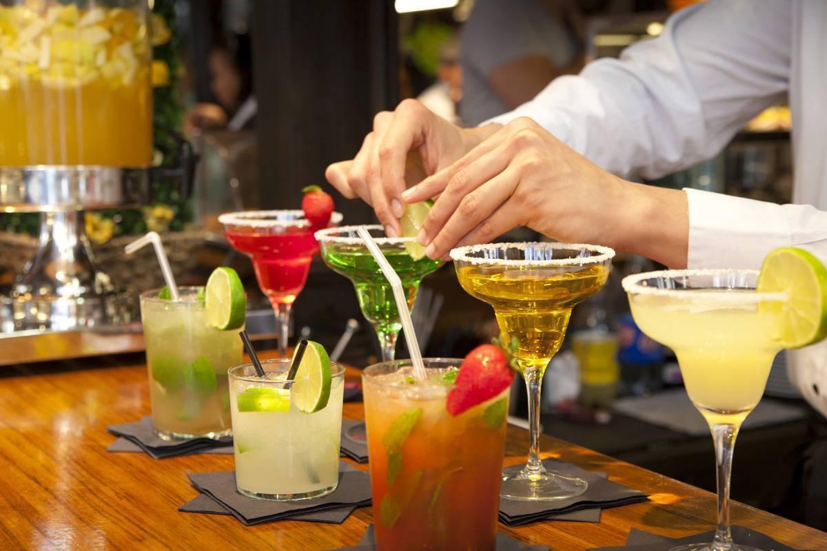 Слоистые безалкогольные коктейли | любимые коктейли