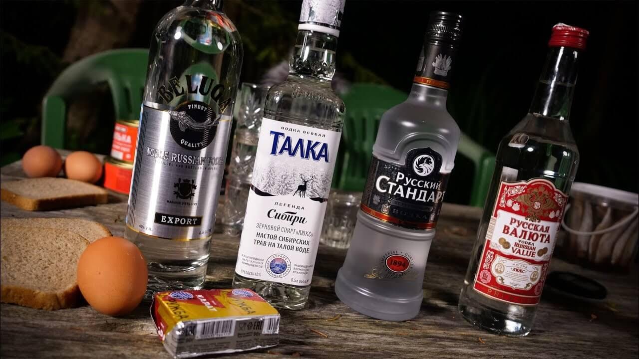Рейтинг из десяти марок водки, которую пить категорически нельзя