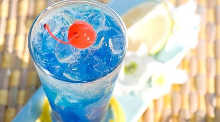 Голубая лагуна коктейль. состав, рецепты приготовления классического алкогольного и безалкогольного