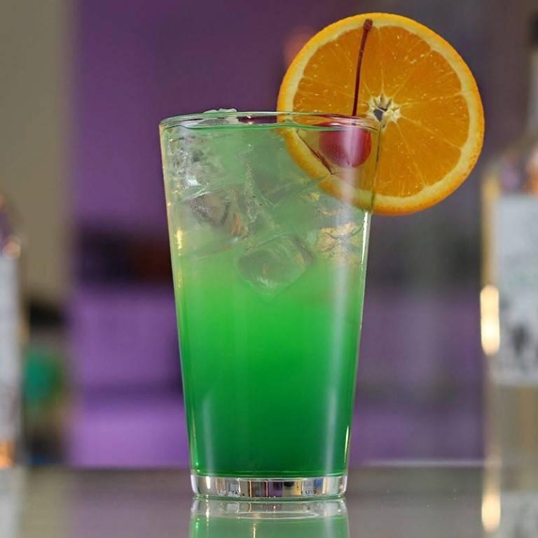 Коктейль зеленая фея - fooideas