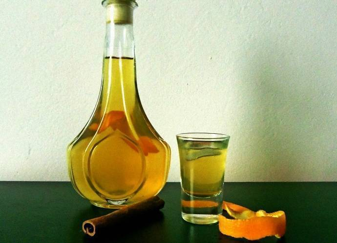 Настойка на мандаринах на водке рецепт