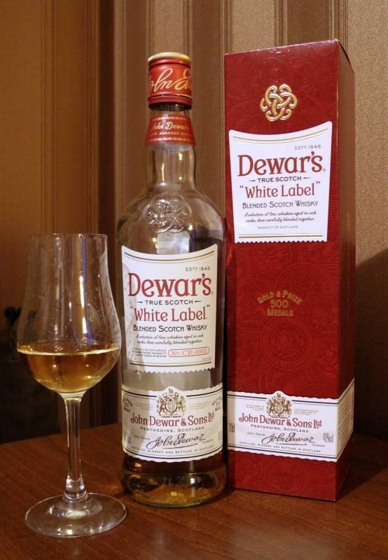 Обзор виски dewar's (дьюарс)
