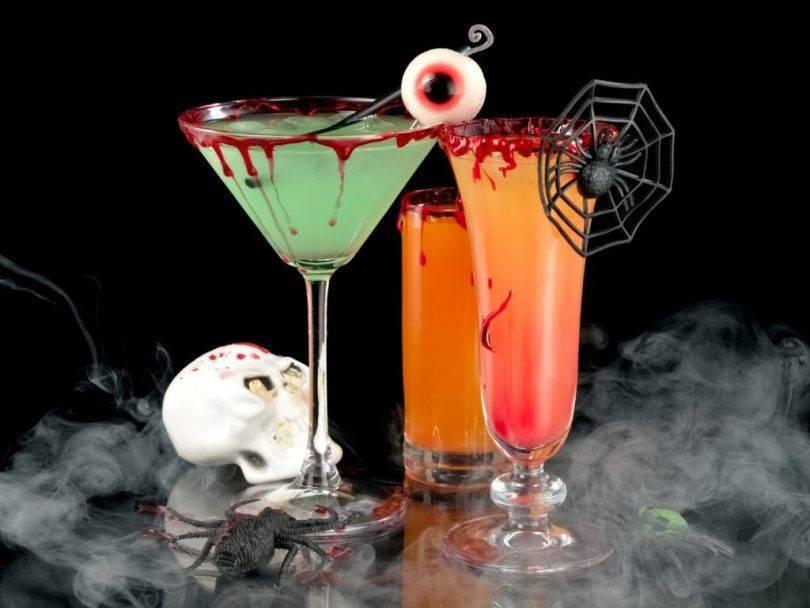 Зловещие безалкогольные коктейли на хэллоуин. восемь лучших коктейлей на хэллоуин